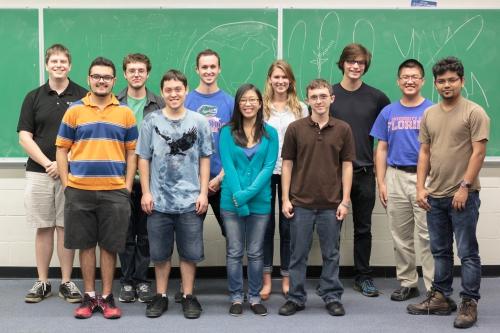 Microgravity team photo